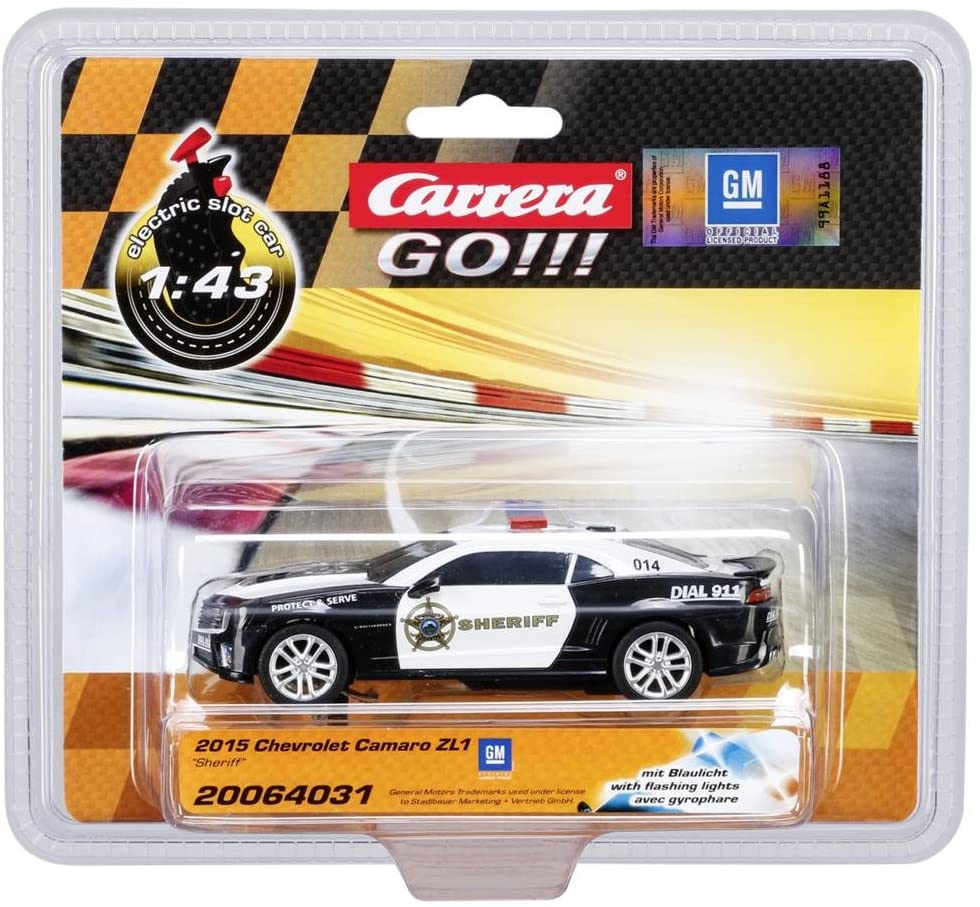 Carrera 2015 Chevrolet Camaro ZL1 Sheriff 1:43 Electric Slot Car