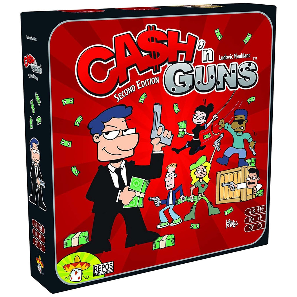 Board Games - Cash'n Guns The Board Game