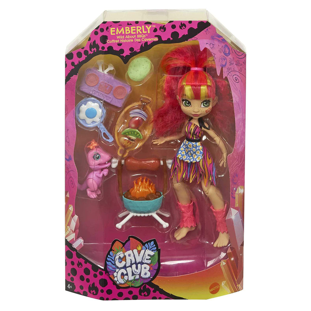 Cave Club Emberly Wild About BBQs Doll Set