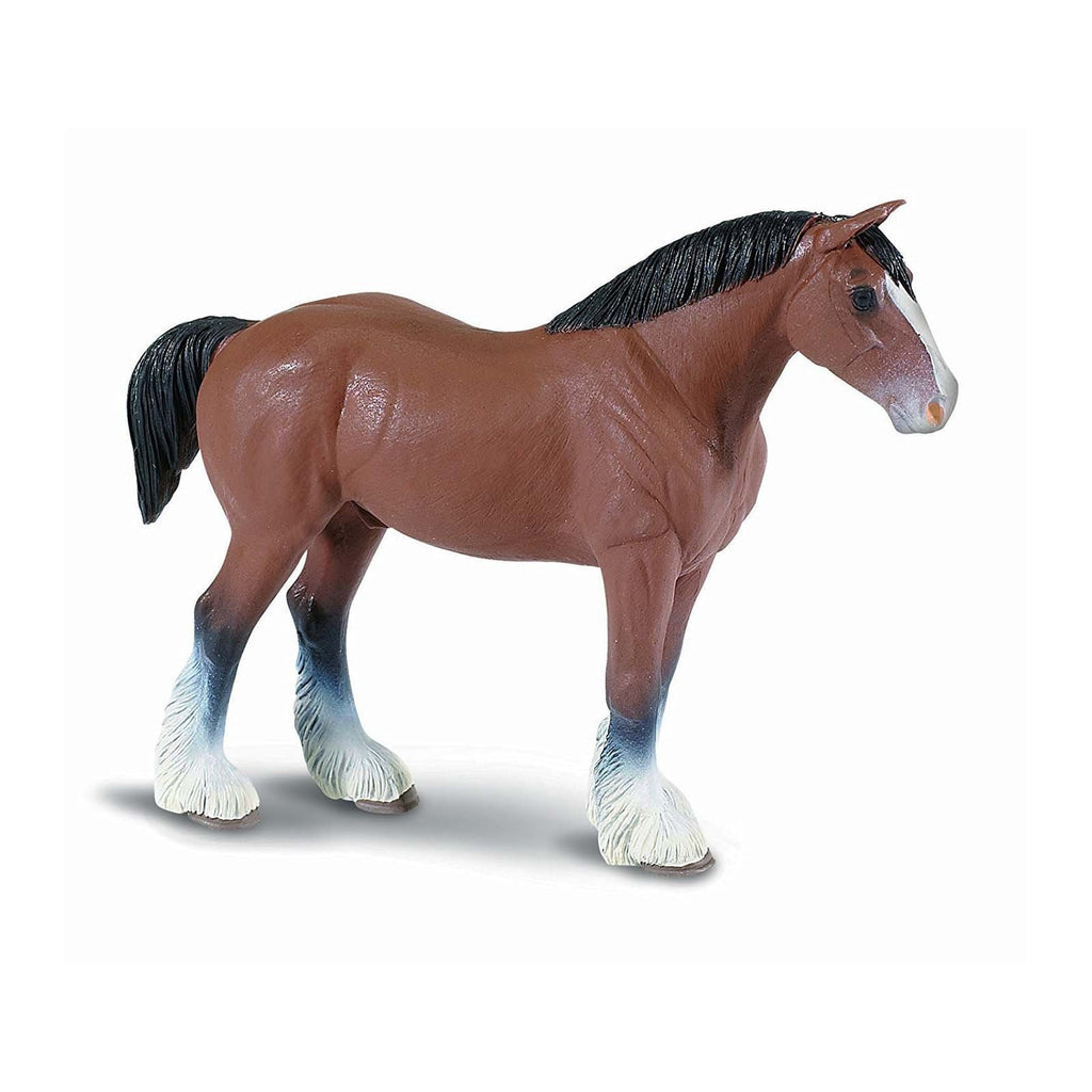 Mammal Figures - Clydesdale Stallion Winner's Circle Horses Figure Safari Ltd