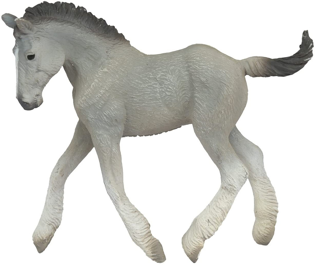 CollectA Shire Horse Foal Grey Animal Figure 88575