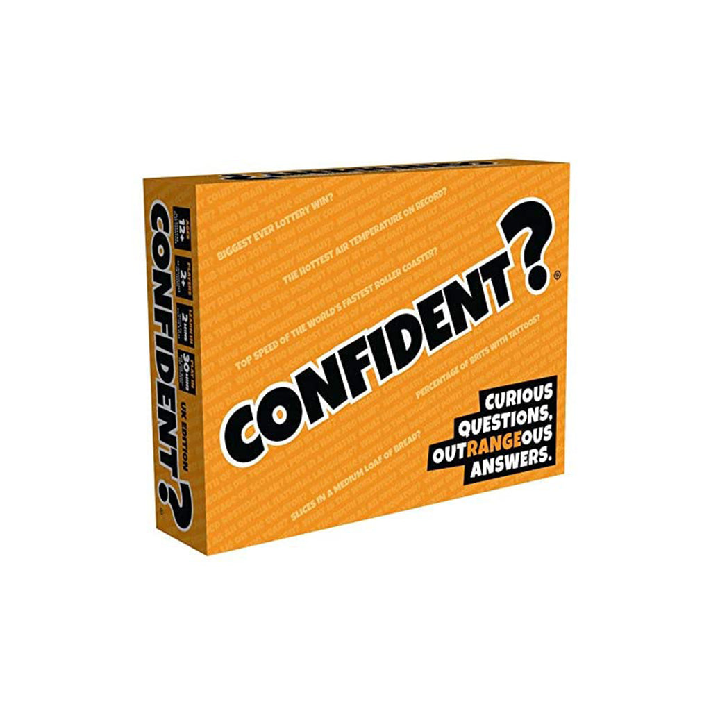 Confident? The Guess A Range Party Game