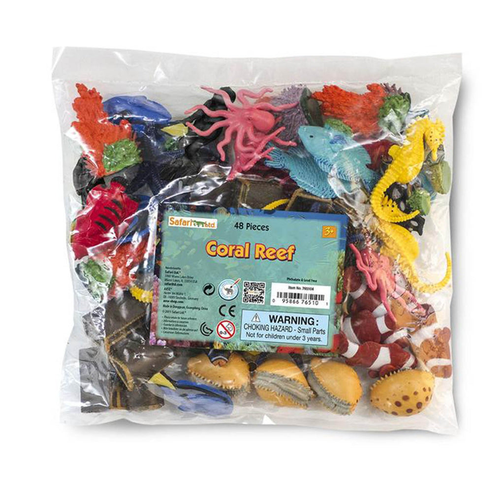 Coral Reef Bulk Bag Figures Safari Ltd
