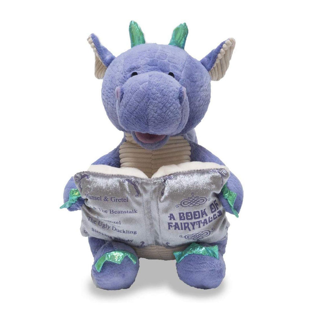 Cuddle Barn Dalton The Storytelling Dragon 12 Inch Plush With Sound