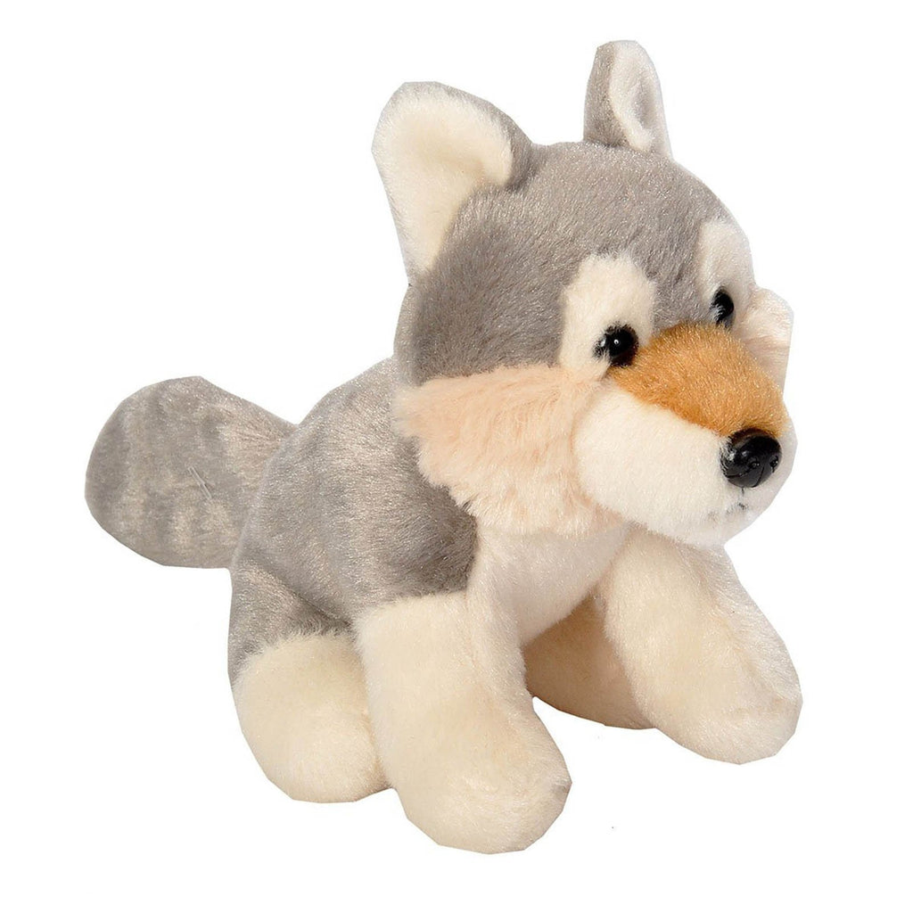 Animal Plush Toys - Cuddlekins Lil's Wolf 5 Inch Animal Plush Figure