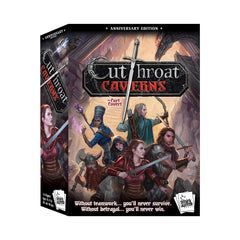 Cutthroat Caverns Anniversary Edition Card Game