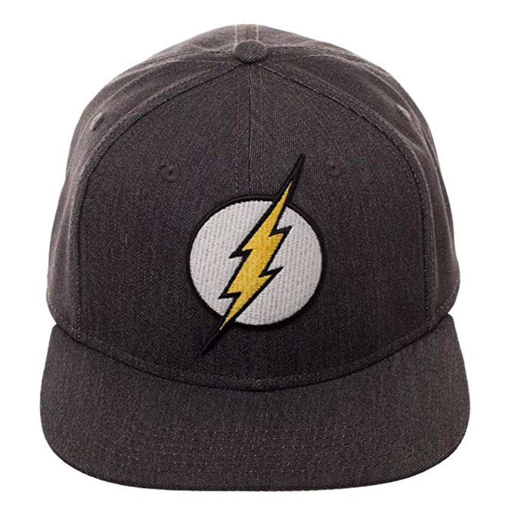 DC Flash Logo Flat Bill Flex Hat