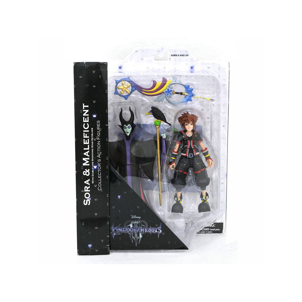 Diamond Collector's Disney Kingdom Hearts 3 Sora Maleficent Set