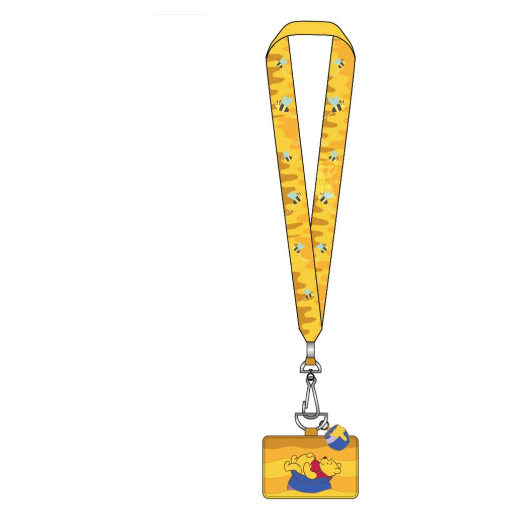 Loungefly Disney Winnie The Pooh Honeypot Lanyard With Card Holder