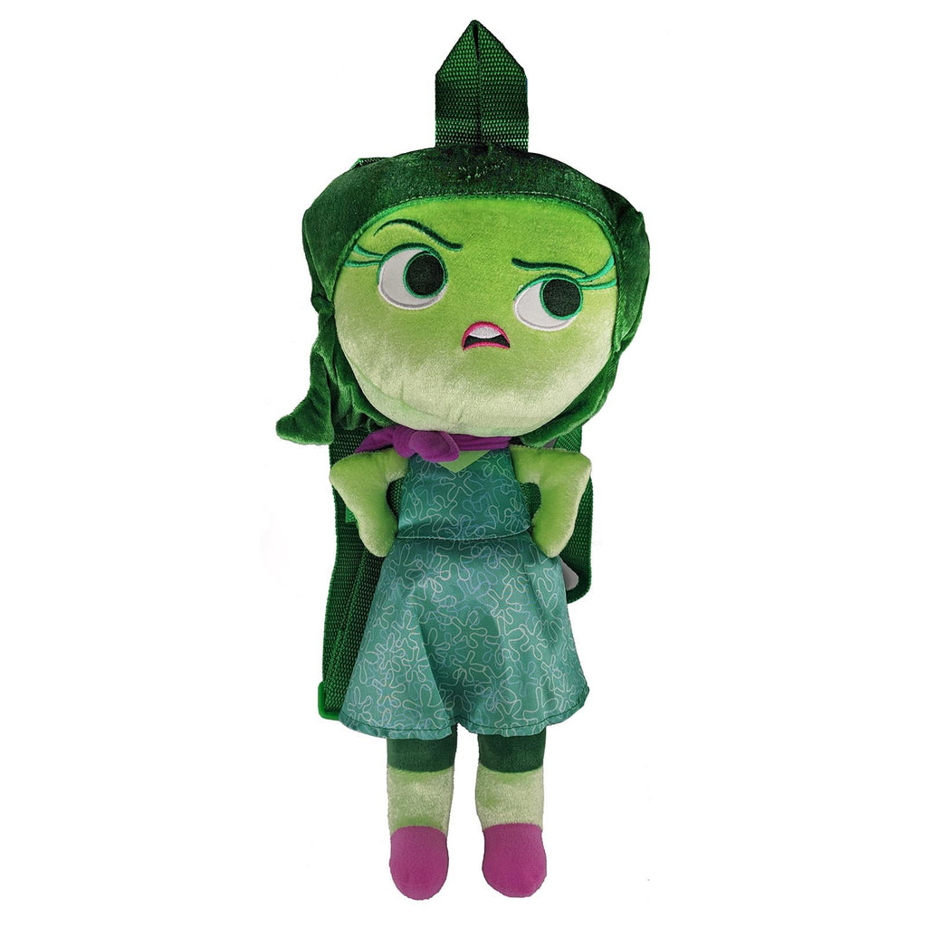 Clothing - Disney Inside Out Disgust 17 Inch Plush Back Accessory