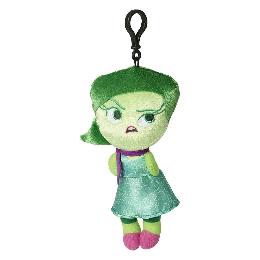 Girl Toys - Disney Inside Out Disgust Zippered Clips 8 Inch Plush Figure