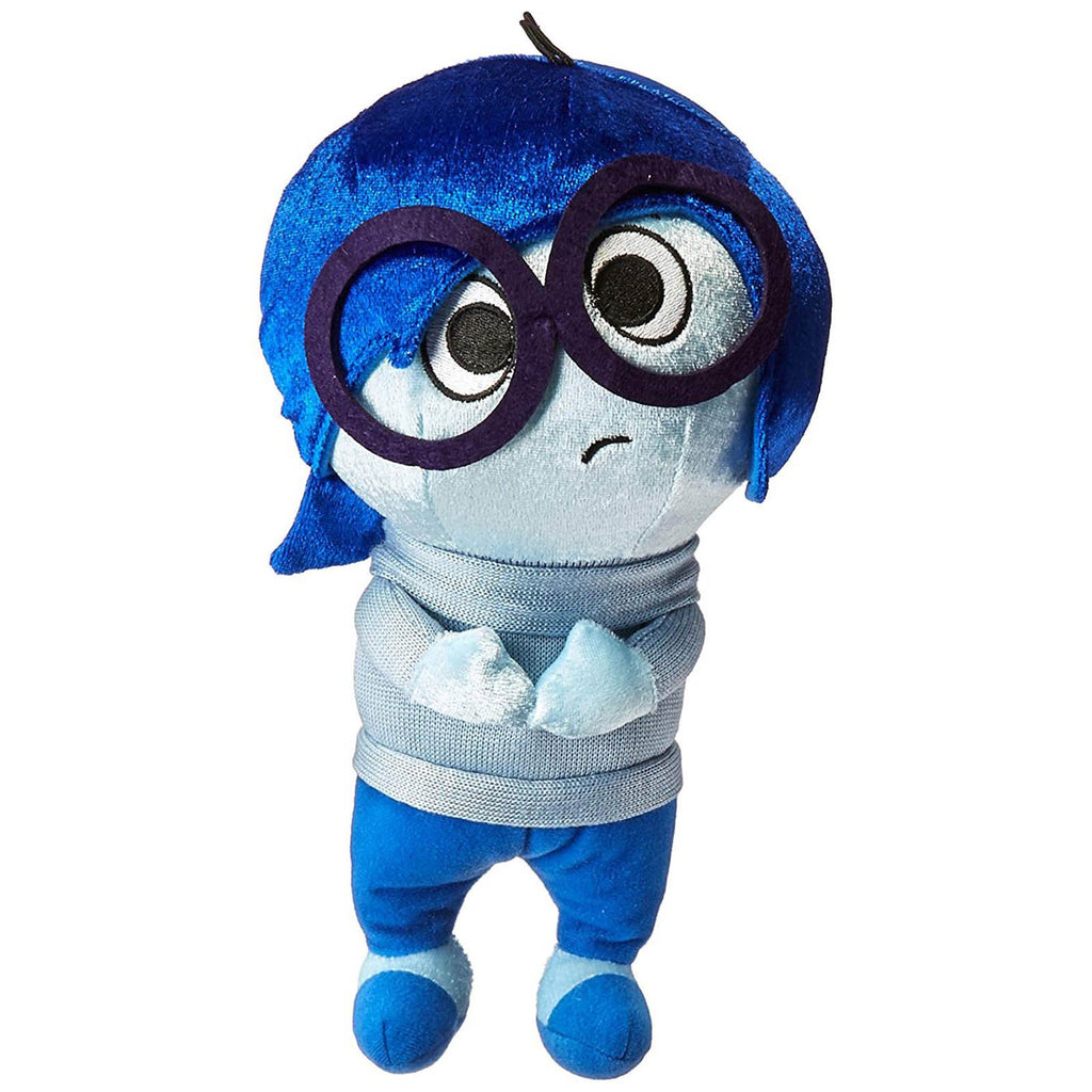 Disney Inside Out Sadness Zippered Hanger 12 Inch Plush Figure