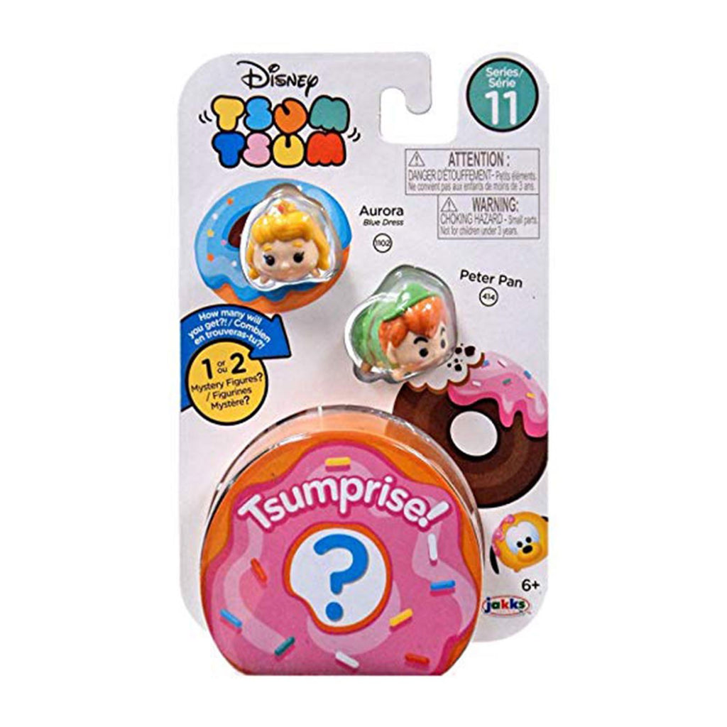Disney Tsum Tsum Series 11 Three Figure Aurora Peter Pan Set