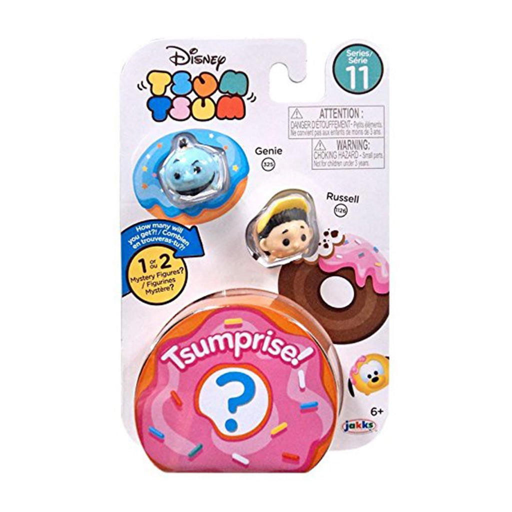Disney Tsum Tsum Series 11 Three Figure Genie Russell Set