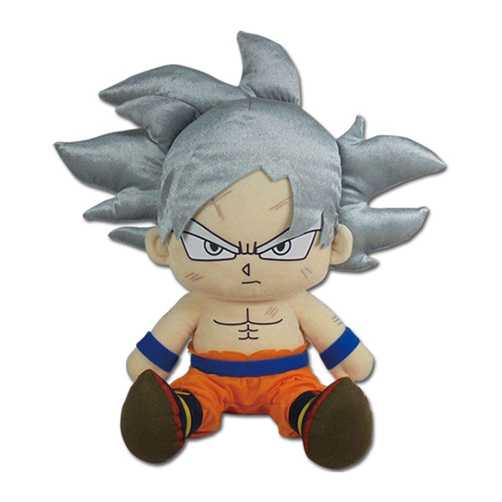 Dragon Ball Super Goku Ultra Instinct Sitting 14 Inch Plush Figure