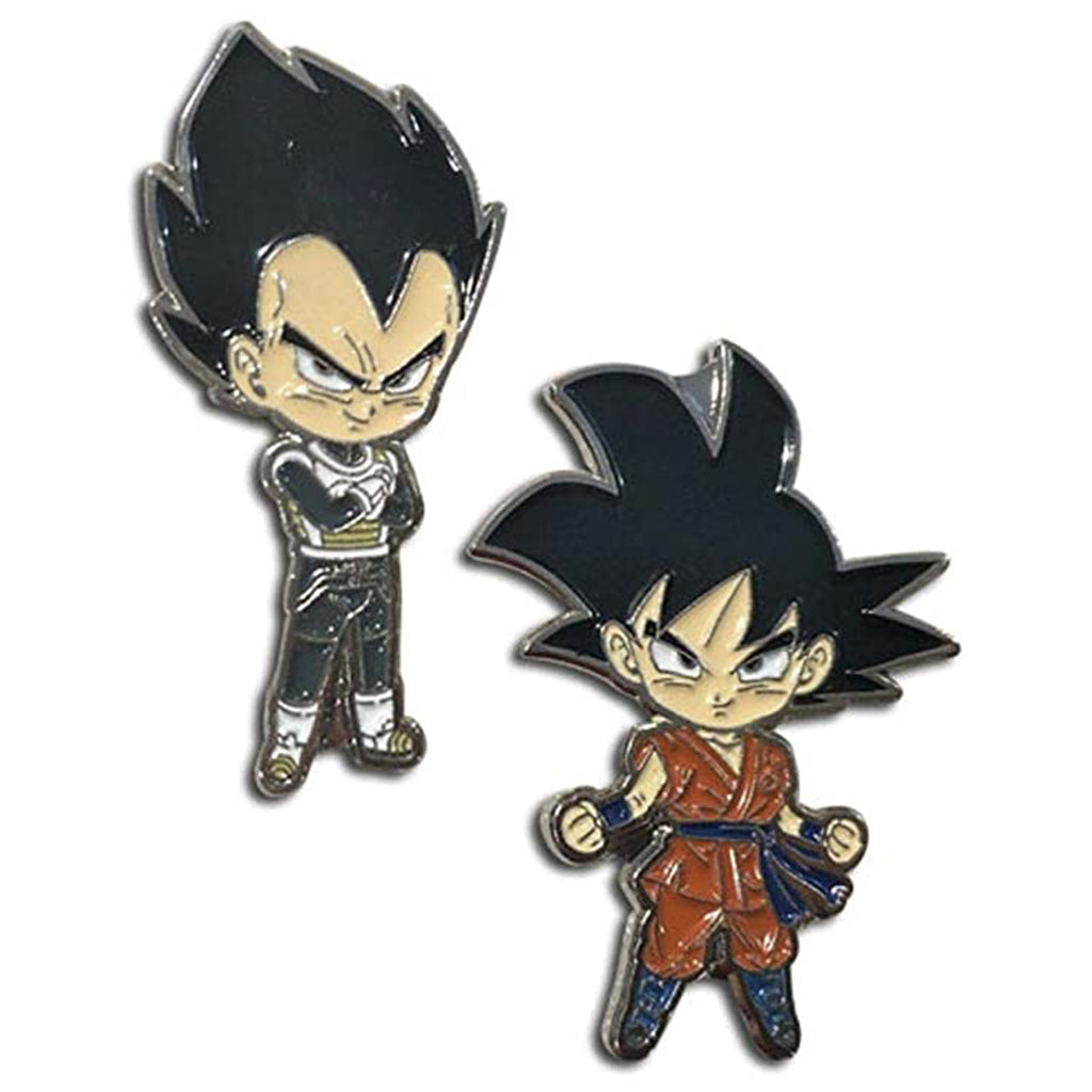 Dragon Ball Super Goku & Vegeta Pins
