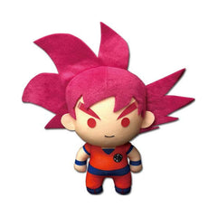 Dragon Ball Super SSG Goku 01 6.5 Inch Plush Figure