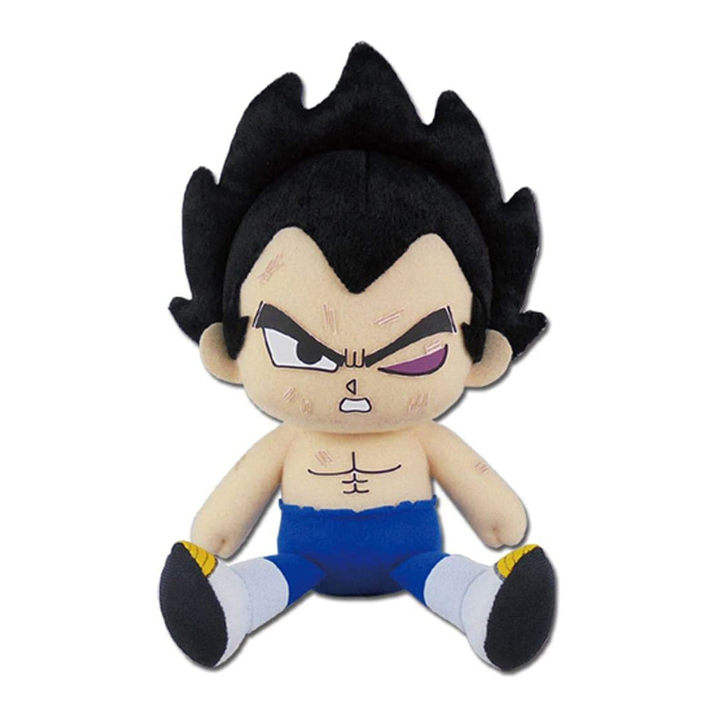 Dragon Ball Super Vegeta Tournament Of Power Sitting 7 Inch Plush Figure
