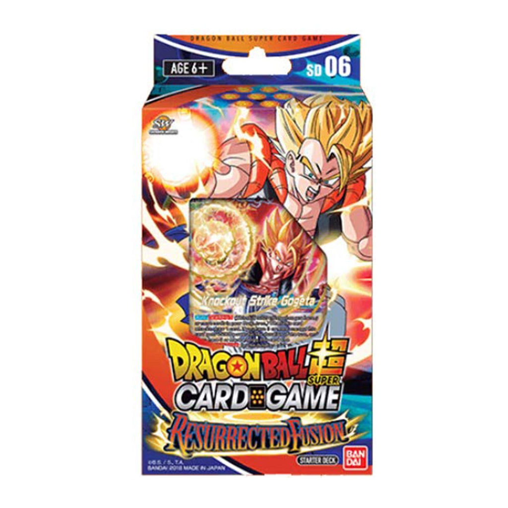 Dragon Ball Super Resurrected Fusion Starter Deck Set