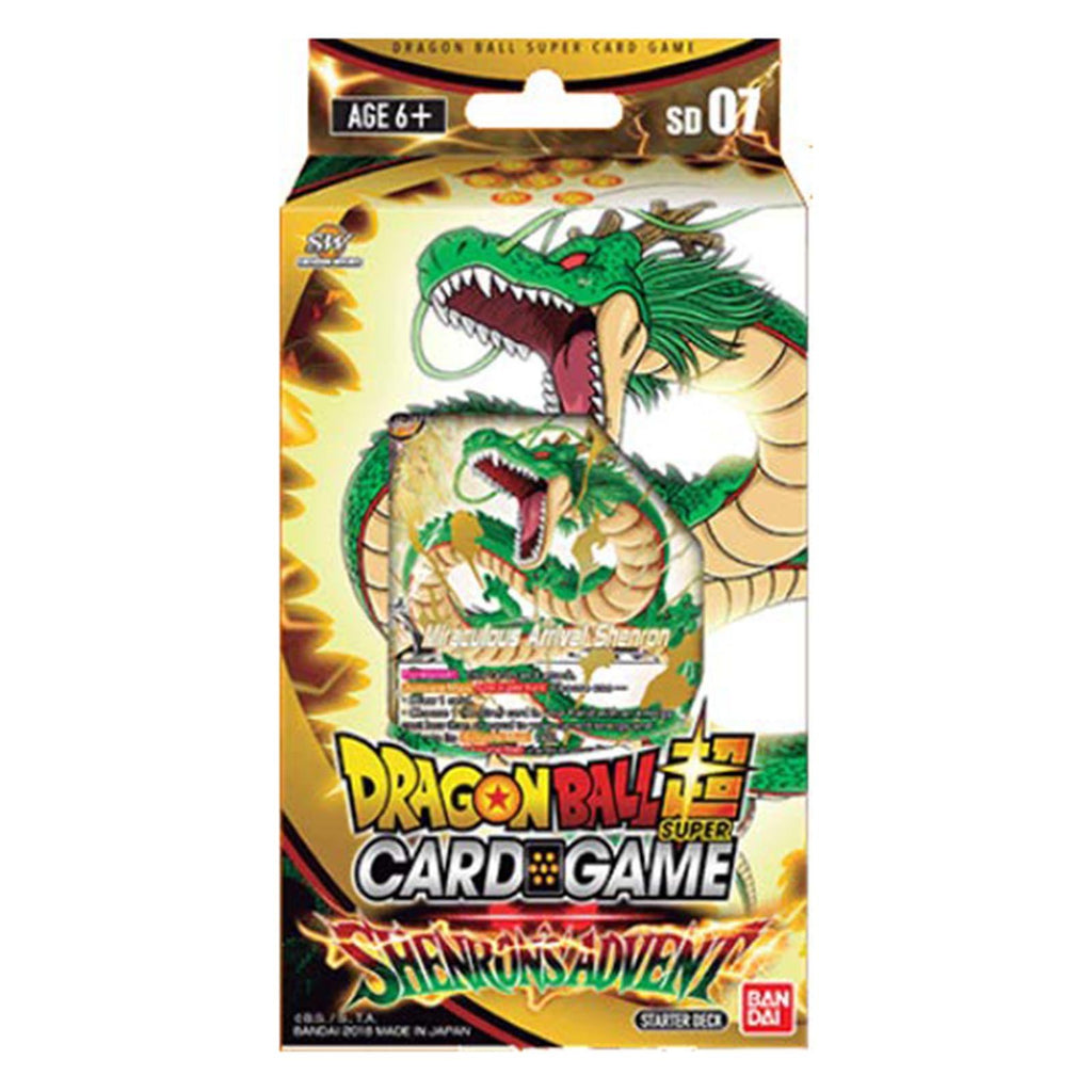 Dragon Ball Super Shenron's Advent Starter Deck Set