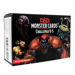 Card Games - Dungeons And Dragons Cards Challenge 0-5 Card Set