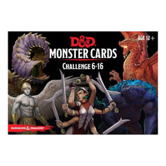 Card Games - Dungeons And Dragons Cards Challenge 6-16 Card Set