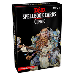 Dungeons And Dragons Cleric Spell Cards Deck