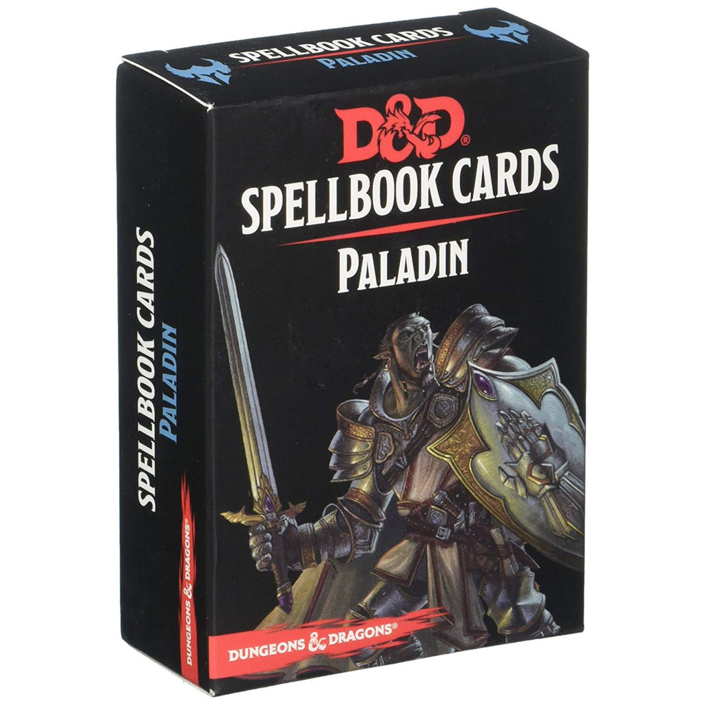 Dungeons And Dragons Paladin Spell Cards Deck