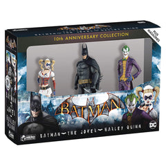 Eaglemoss Batman Arkham Asylum 10th Anniversary 3 Figure Set