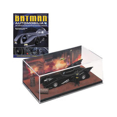 Eaglemoss Batman 1989 Batmobile Diecast Car With Magazine