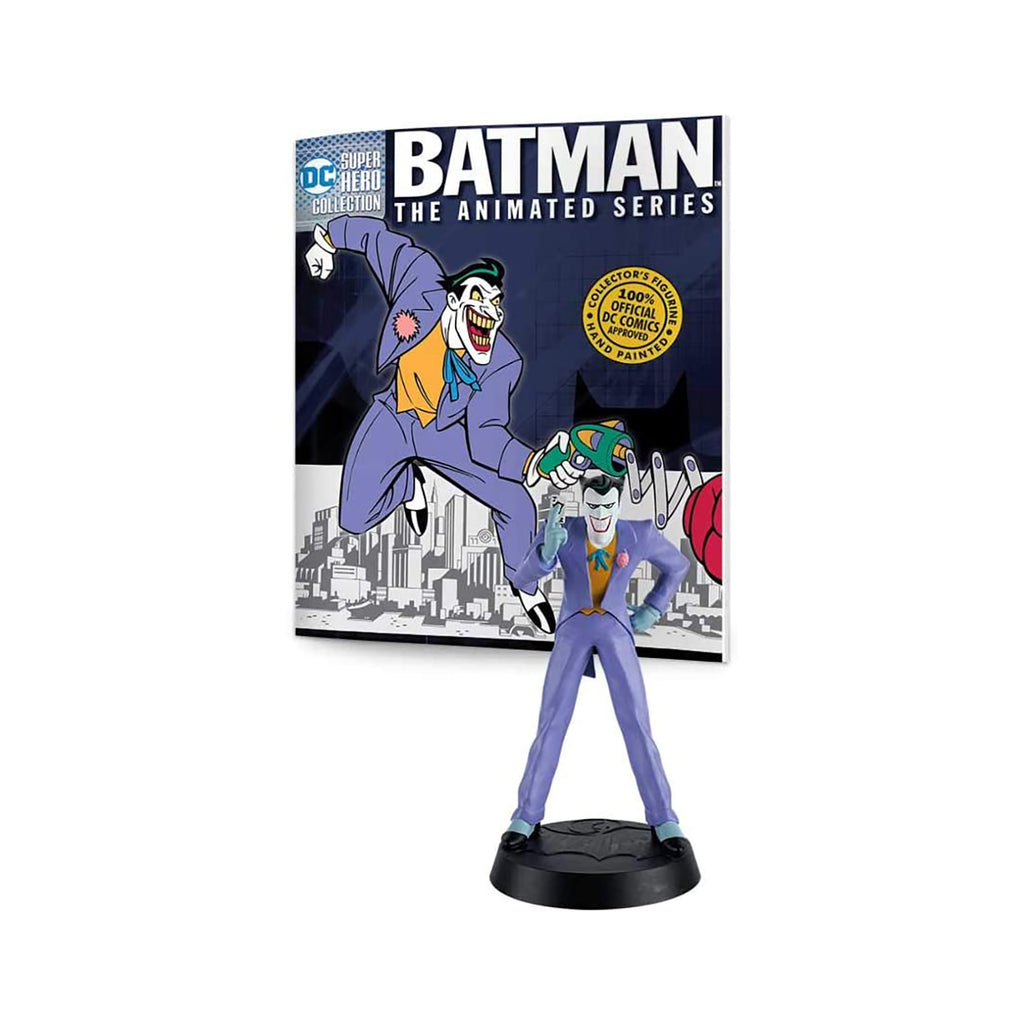 Eaglemoss DC Super Hero Collection Batman Animated Series Joker Figure