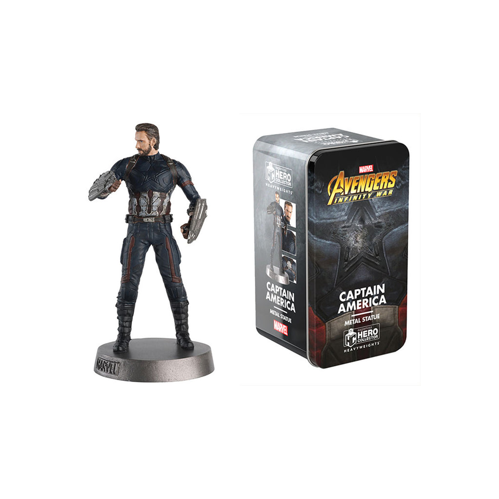 Eaglemoss Hero Collector Heavyweights Captain America Metal Statue