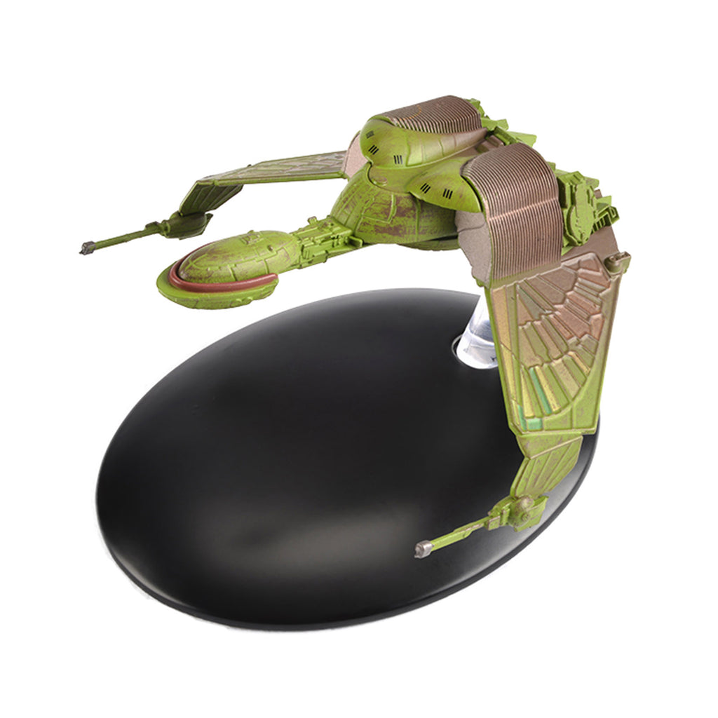 Eaglemoss Star Trek Klingon Bird-of-Prey 'Attack Mode' Diecast Ship Replica