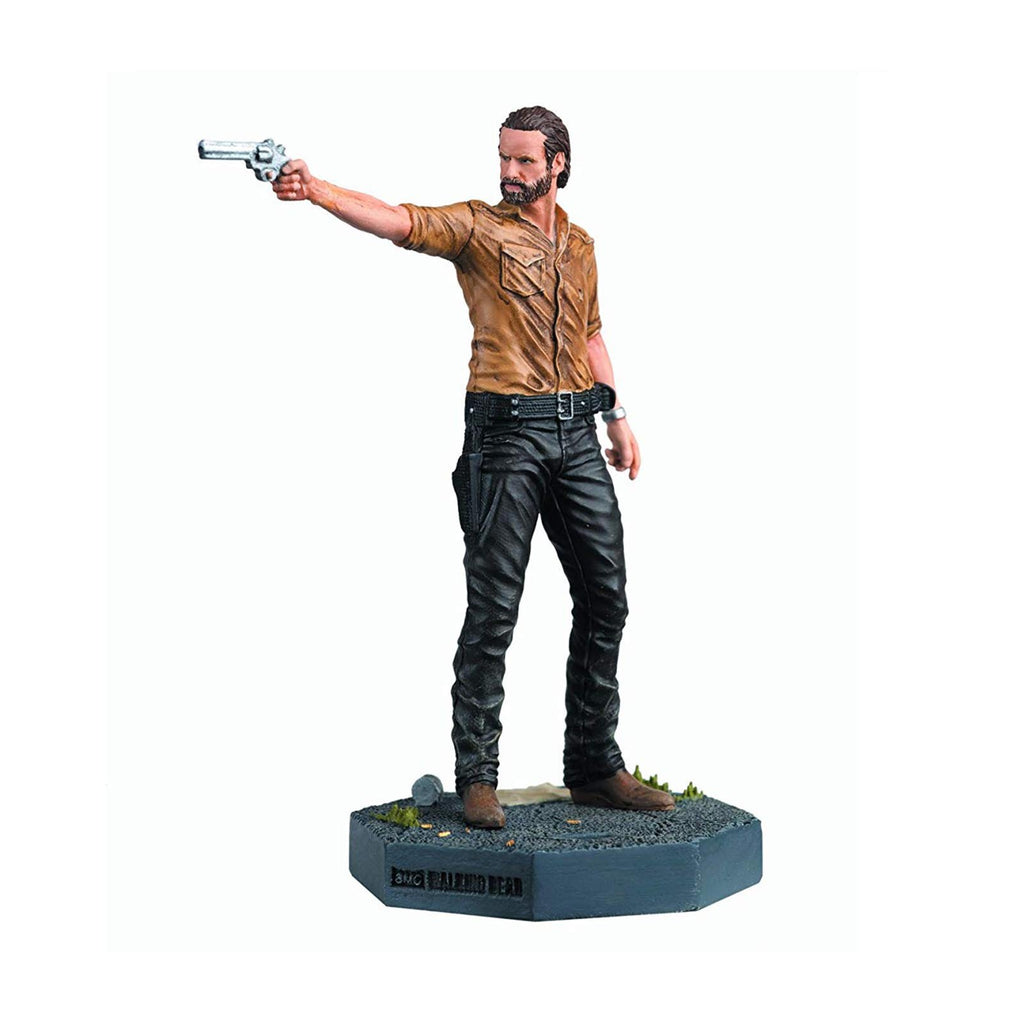 Eaglemoss Walking Dead Collector's Models Rick Grimes Figure