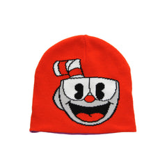 Elope Cuphead Bad End Reversible Knit Beanie