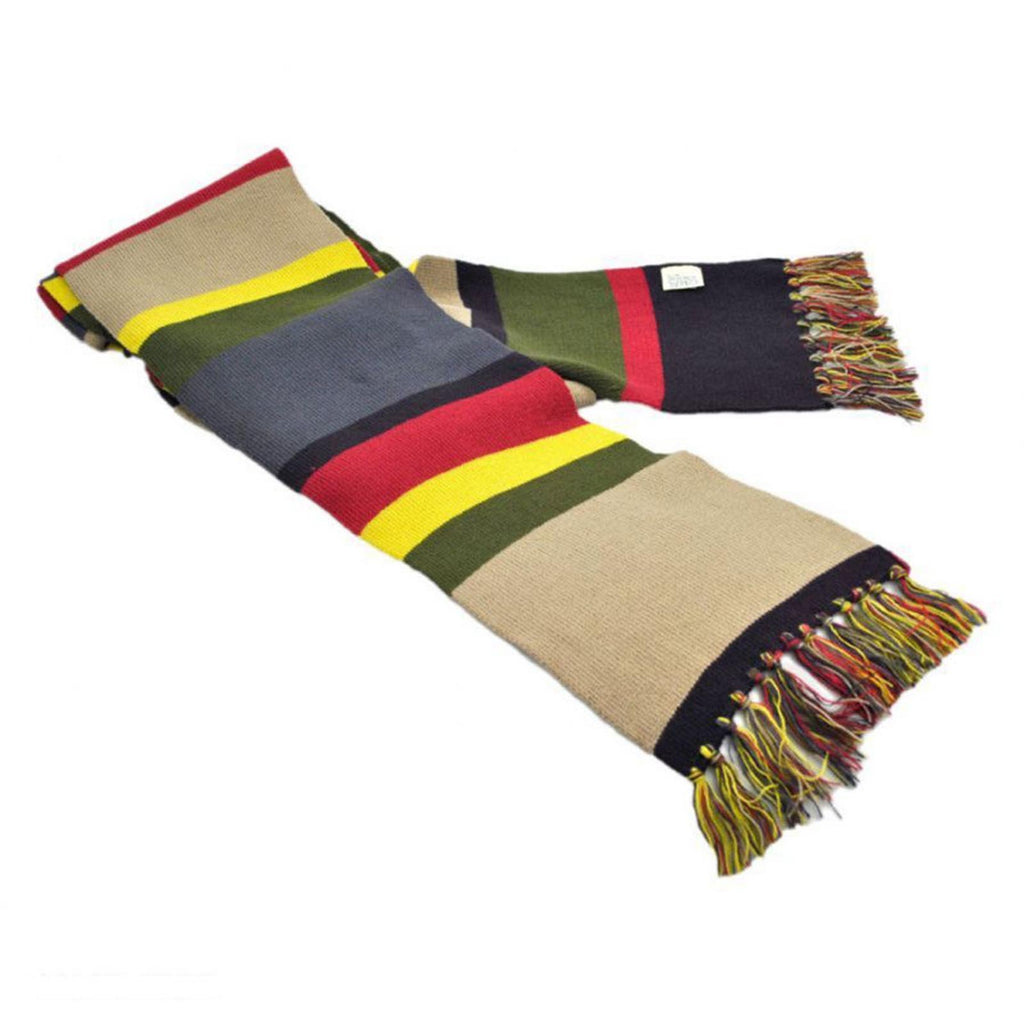 Elope Doctor Who 4th Doctor Knit 74 Inch Long Scarf