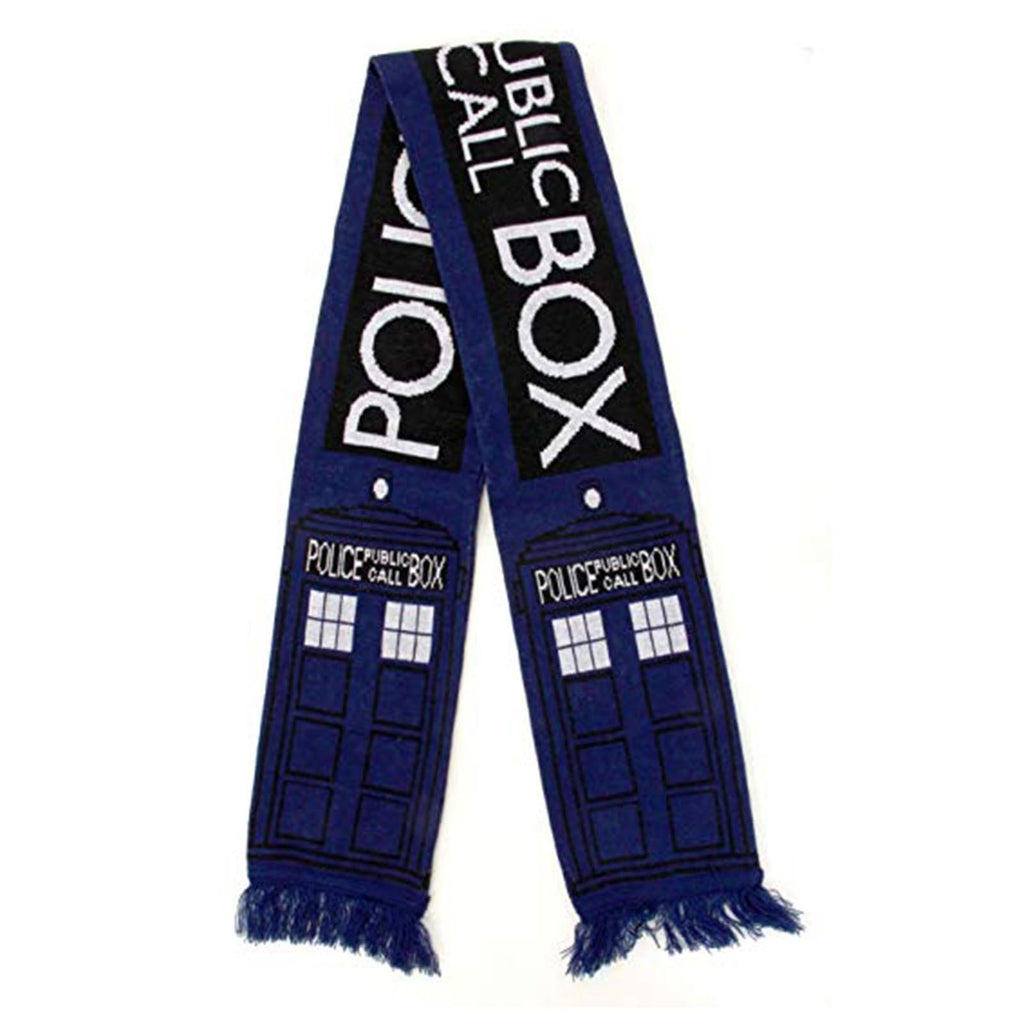 Elope Doctor Who Tardis Knit 74 Inch Long Scarf