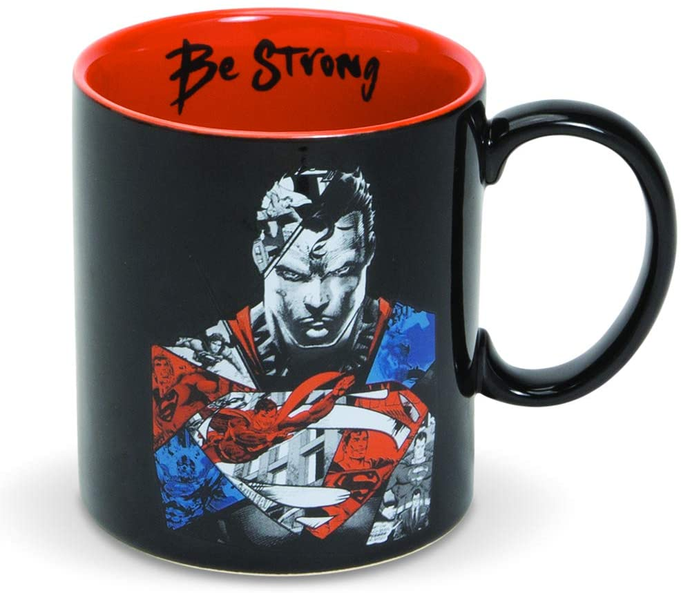 Enesco DC Justice League Be Strong Superman Mug Cup