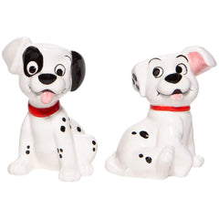 Enesco Disney 101 Dalmatians Patch And Rolly Salt & Pepper Shakers