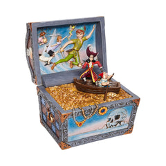 Enesco Disney Peter Pan Treasure-Strewn Tableau Treasure Chest