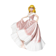 Enesco Disney Showcase Couture De Force Cinderella Pink Dress Figure