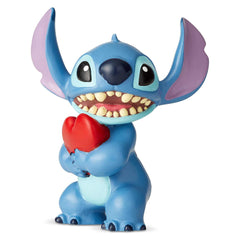 Enesco Disney Showcase Lilo And Stitch Heart 3 Inch Figurine