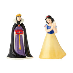 Enesco Disney Snow White Evil Queen Salt Pepper Shaker Set