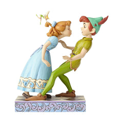 Enesco Disney Traditions Peter Pan Wendy An Unexpected Kiss Figure