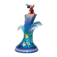 Enesco Disney Traditions Sorcerer Mickey Summit Of Imagination Figurine