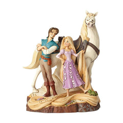 Enesco Disney Traditions Tangled Carved By Heart Figure