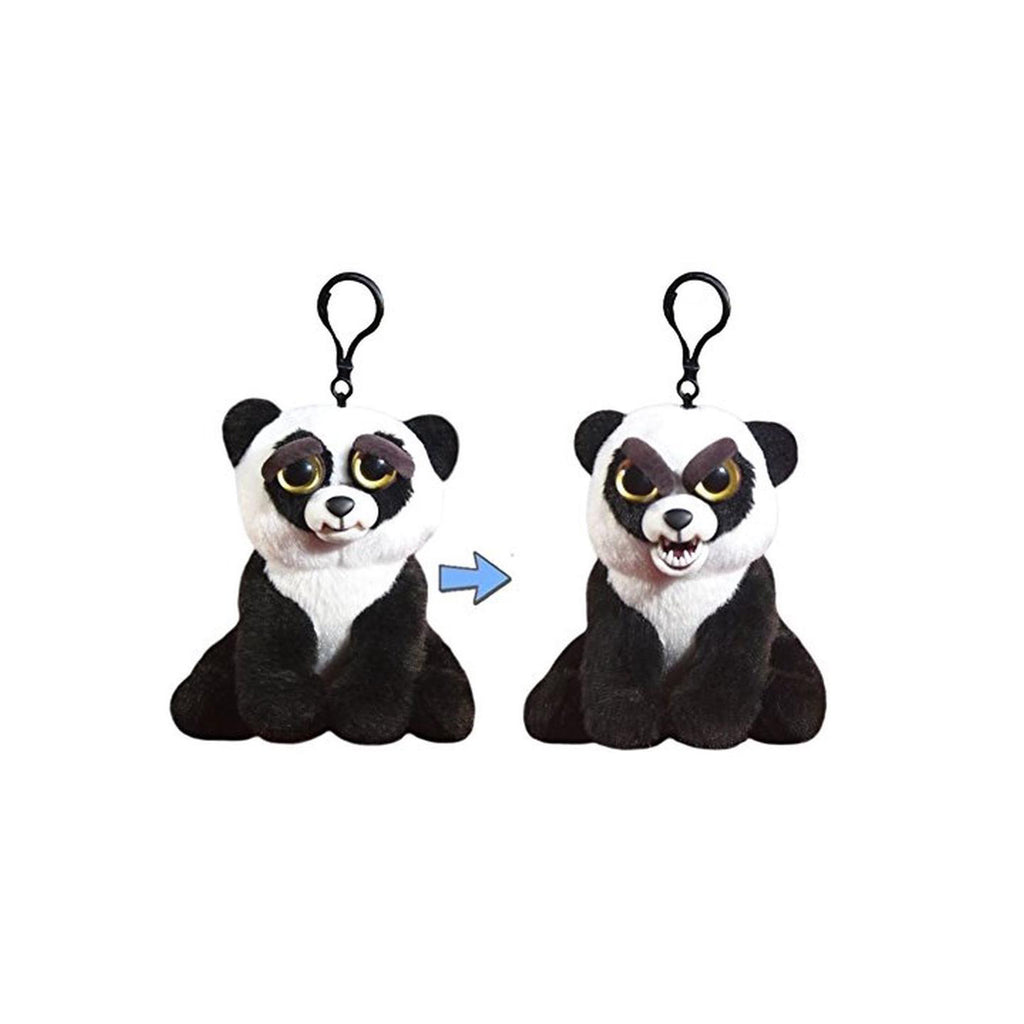 Feisty Pets Mini Blackbelt Bobby Panda Plush Clip
