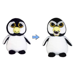 Animal Plush Toys - Feisty Pets Ice Cold Izzy Penguin 8 Inch Plush Figure