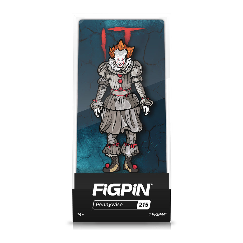Figpin Movie IT Pennywise Collectible Pin #215