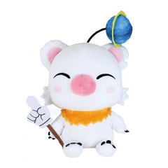 Final Fantasy Brave Exvius Moogle With Wand 11 Inch Plush Figure